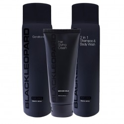 Black Leopard Hair Pack